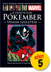 Borítókép-Vénom és Pókember