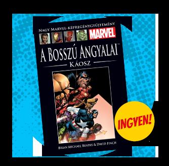 A Bosszú Angyalai Káosz kötet borítója