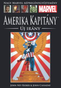 AMERIKA KAPITÁNY: ÚJ IRÁNY </br>(2002) </br><span>11. kötet</span>